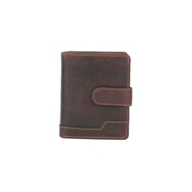 Plånbok skinn brun The Monte 62849