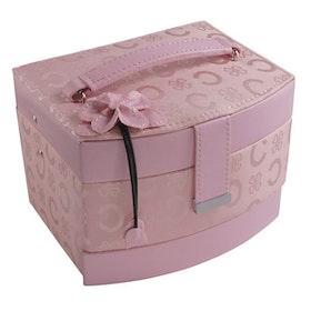 Smyckeskrin rosa C-tyg