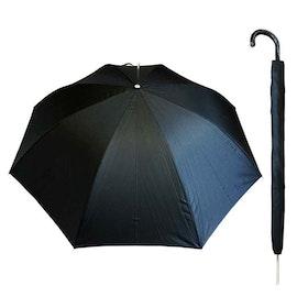 Paraply långt herr svart vindsäkert