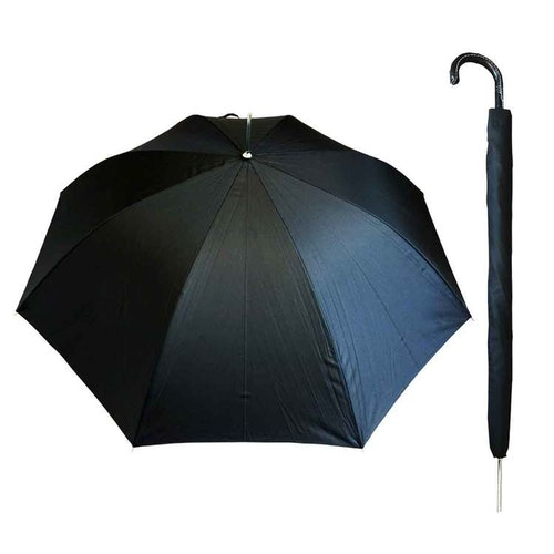 Paraply långt svart vindsäkert