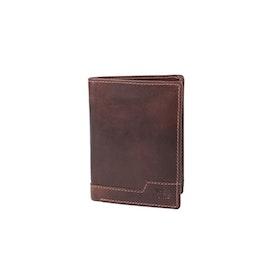 Plånbok skinn brun The Monte 62834