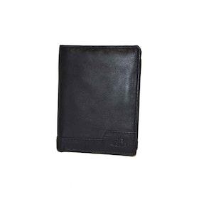 Plånbok skinn svart The Monte 62834