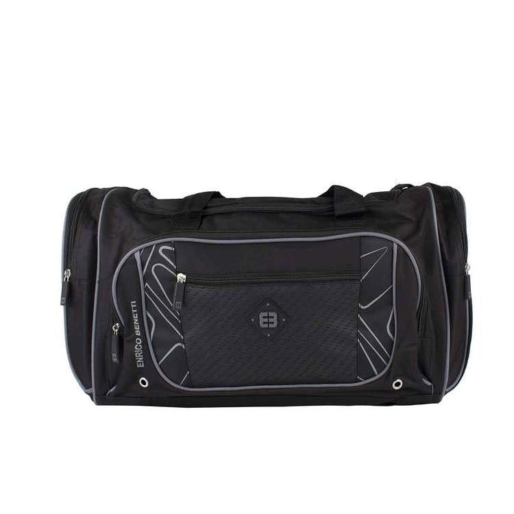 sportbag sportväska svart