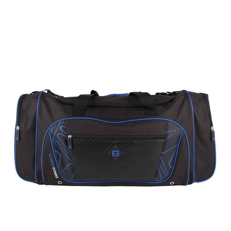 Bag tyg svart-blå Brisbane Enrico Benetti