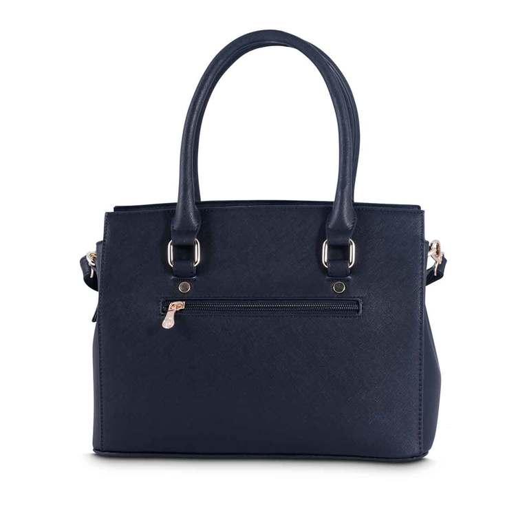 Handväska svart PU med hjärta Puccini 4374108 baksidan