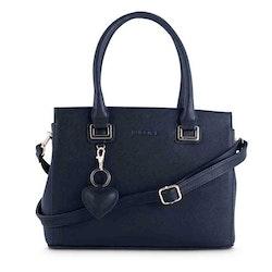 Handväska svart PU med hjärta Puccini 4374108