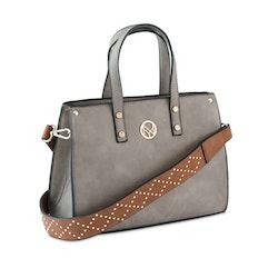 Handväska grå San Sebastian NYPD
