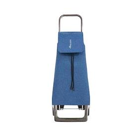 Shoppingvagn Rolser Joy Jet Tweed blå