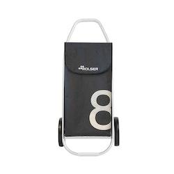 Shoppingvagn Rolser Com 8 Zen svartgrå
