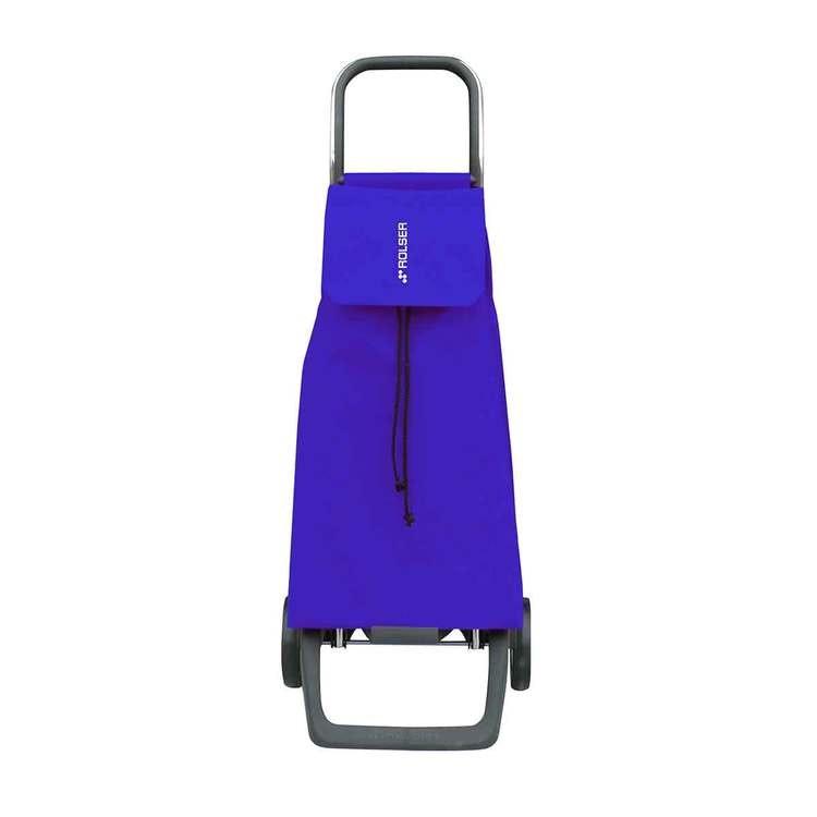 Shoppingvagn Rolser Joy med väska Jet LN blå