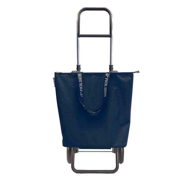 Shoppingvagn Rolser RG Logic minibag MF grå