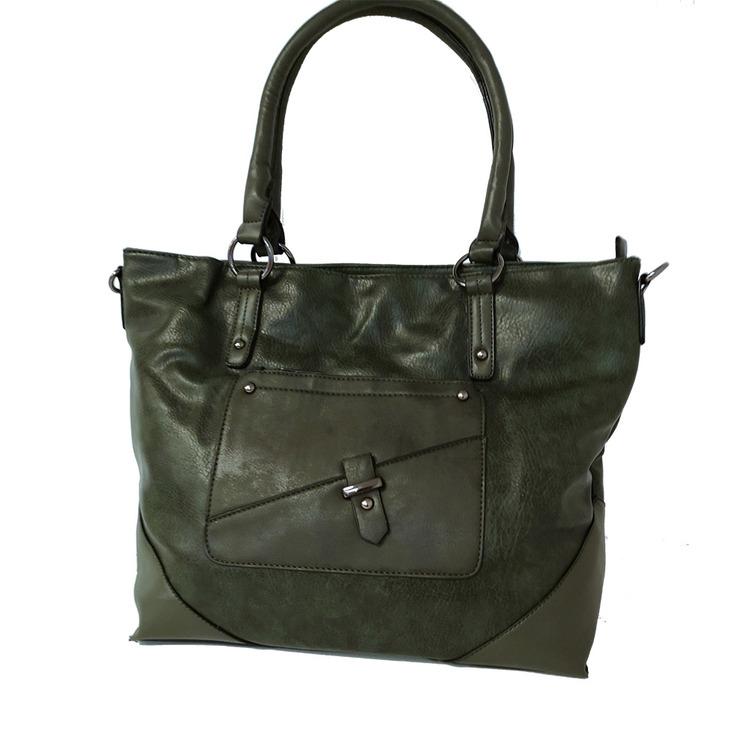 Handväska PU grön S.A.C 5142500