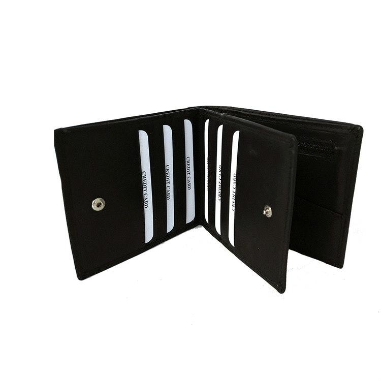 Plånbok dollar skinn svart SAC 6821210 plånböcker