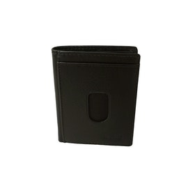 Kortfodral thumb-up italienskt skinn svart SAC 6600810