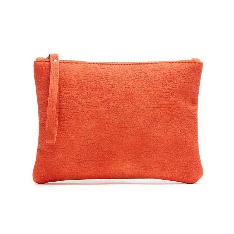 Sminkväska   clutch Alessa orange JJDK - Bags4Fun.se 42f9f96115d22