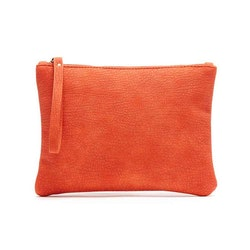 Sminkväska / clutch Alessa orange JJDK