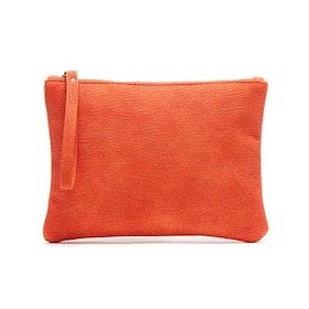 Sminkväska / clutch Alessa orange JJDK