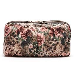 Sminkbox Donatella leopard o blommor JJDK