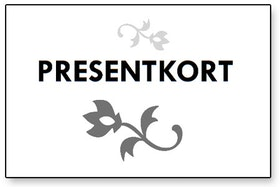 Presentkort digitalt