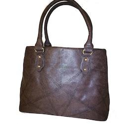 Handväska brun PU SAC 5146300