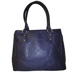 Handväska blå PU SAC 5146300