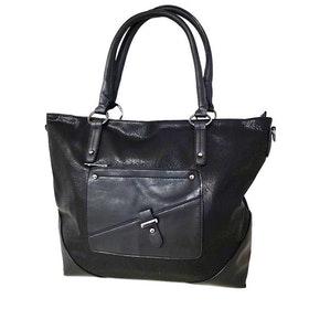 Shoppingväska svart PU SAC 5146500
