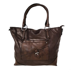 Shoppingväska brun PU SAC 5146500
