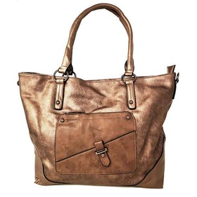Shoppingväska brons PU SAC 5146500