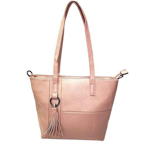 Shoppingväska rosa PU SAC 5146400