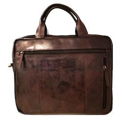 Datorväska skinn brun SAC 4501220