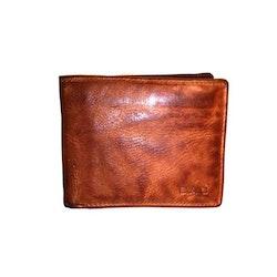 Plånbok dollar herr vintage skinn cognac S.A.C 6700525