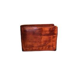 Plånbok dollar herr vintage skinn cognac S.A.C 6700425
