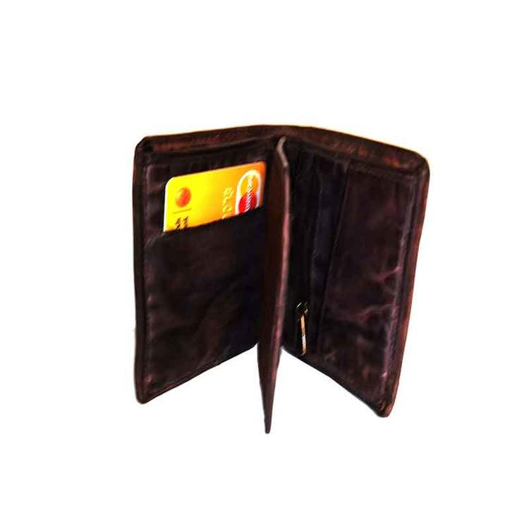 Plånbok herr vintage skinn brun S.A.C 6700320