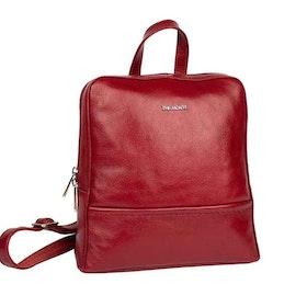 Ryggsäck skinn röd The Monte 52545