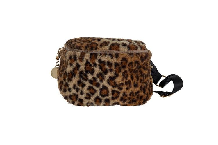 Fluffig midjeväska leopard UlrikaDesign Ulrika Bumbag
