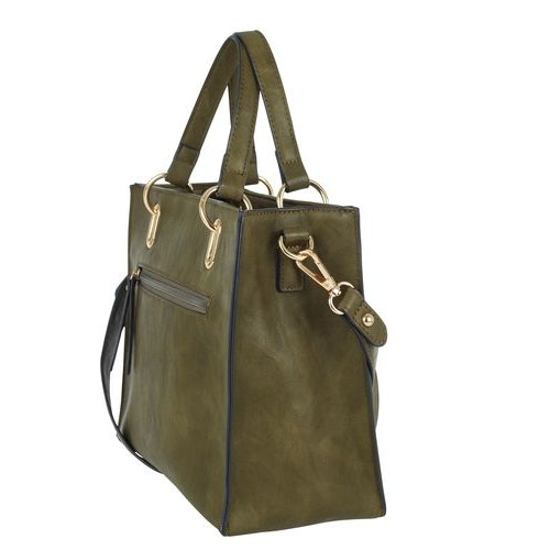 Handväska grön med mobilfodral Ulrika Design