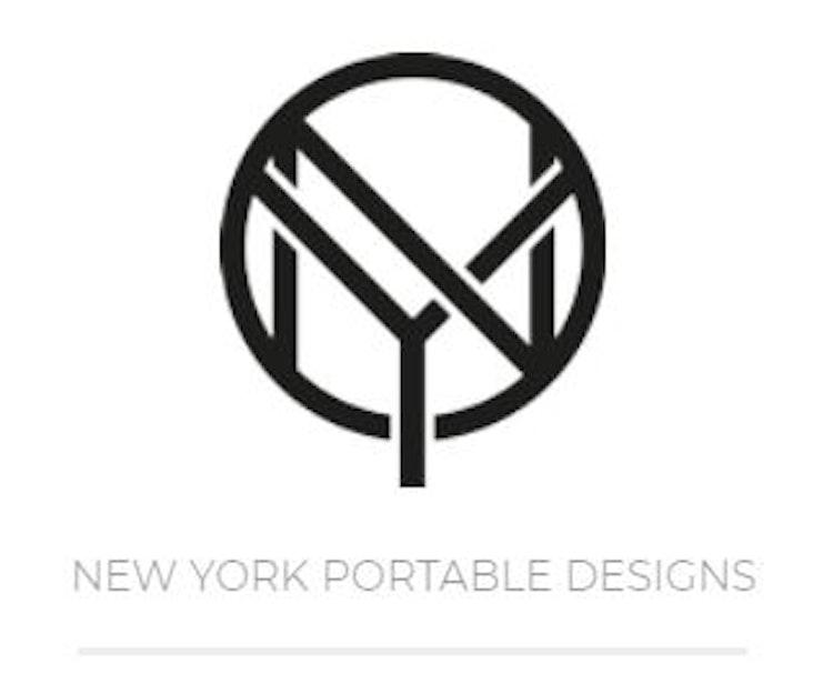 NYPD Väska med ringar till handtag plus lång rem gul