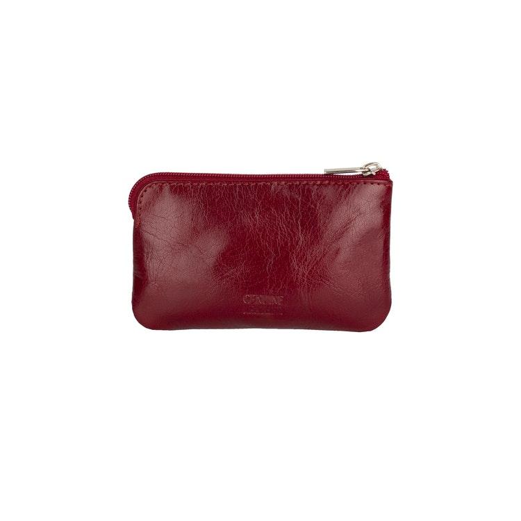Nyckelfodral The Monte röd läder 62633