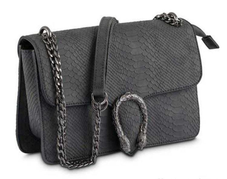 Väskor Axelväska Handväska Väska NYPD Snake ormskinnsmönster