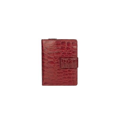 Plånbok skinn röd The Monte 62681