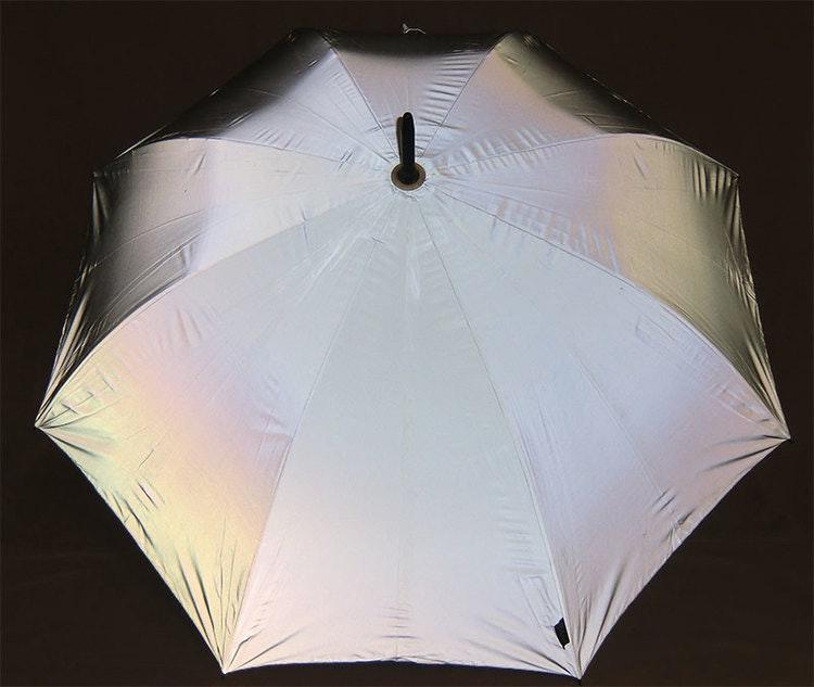 Reflex Paraply Reflexparaply Syns i mörket Synas i mörkret Syns du finns du reflekterande paraply Reflexparaply Reflekterande paraply i reflextyg