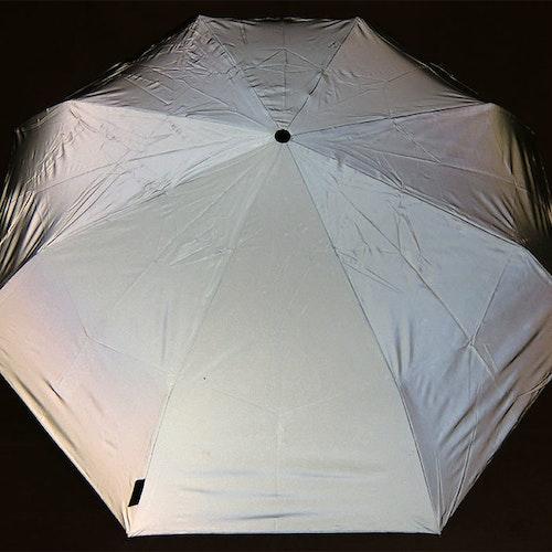 Paraply Reflex hel hopfällbart kort