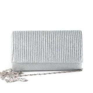 Glittrande clutch silver Rosenvinge 513186