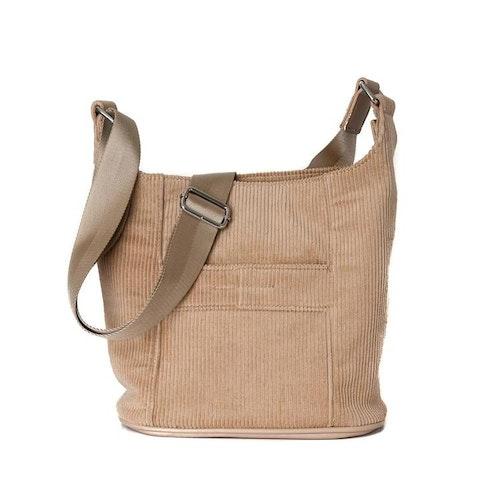 Axelväska Bag small manchester beige 671605