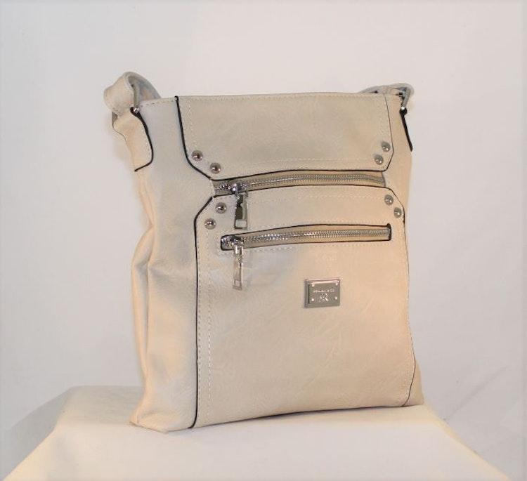 Axelväska beige - Bags4fun