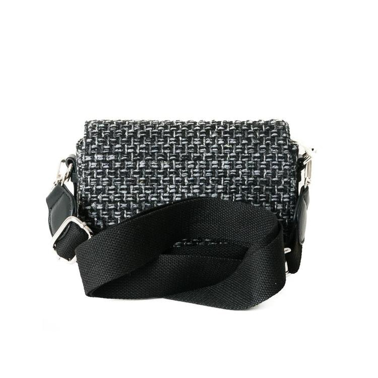 Rosenvinge väska svart Tweed