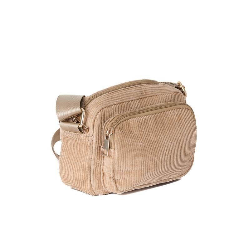 Crossbody Bag miniväska med ficka på utsidan