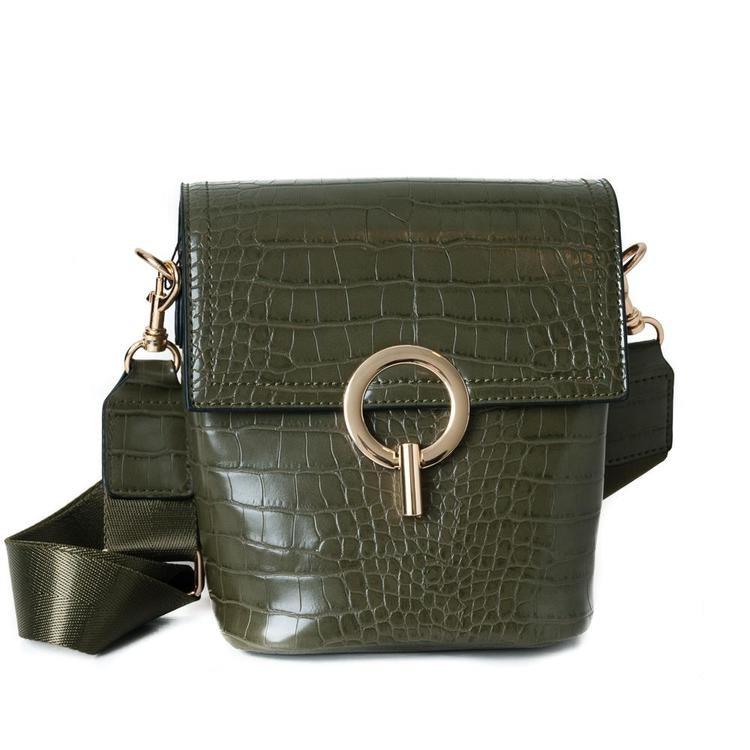 Axelremsväska grön Alice 661750