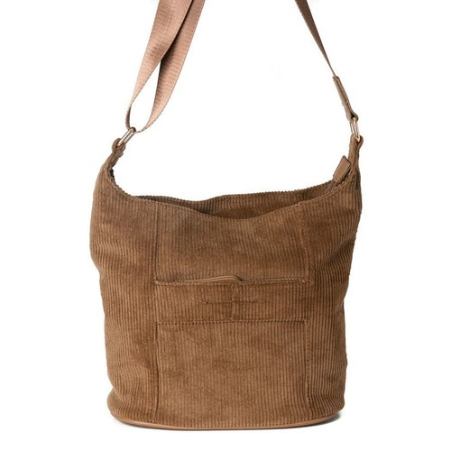 Axelväska Bag small manchester brun 641311