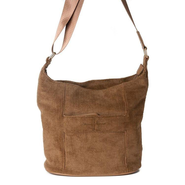 Axelremsväska Bag small manchester brun 641311